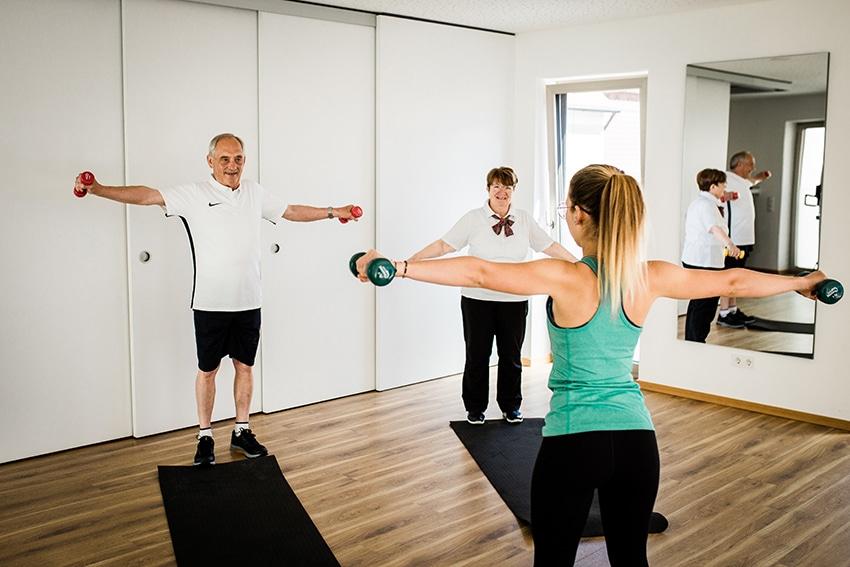 Fachlich und gezieltes Training - Rehasport & T-Rena
